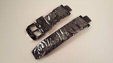 Invicta Subaqua Noma III Black Polyurethane Strap Band Black Inserts