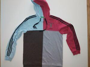 HARLEQUINS Retro Vintage Top RUGBY Adidas SIZE L