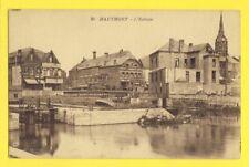 """cpa 59 - HAUTMONT (Nord) L'ECLUSE """"Aux Fabriques Franco-Belges"""""""