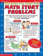 200 Super-Fun, Super-Fast Math Story Problems Math Story Problems:-ExLibrary