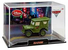 Disney Store Cars 2 Sarge Die Cast Car In Collector's Case