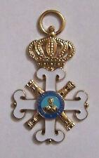 San Marino Military King Kingdom Royal Civil Merit Knight Medal Award Army Badge
