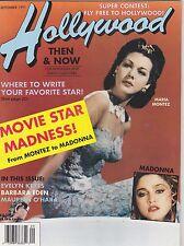 SEPT 1991 HOLLYWOOD STUDIO vintage movie magazine MADONNA - MARIA MONTEZ