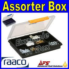 Raaco 12 Fixed Compartment Storage Box Service Case Fishing Bits RA-123600 A12