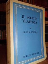 Il Sole in trappola Diario del Periplo dell' Africa -  Bruno Barilli  -  1941