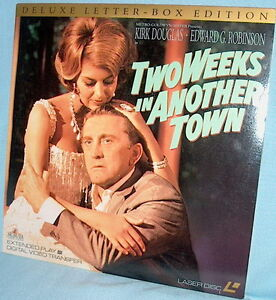 LD laserdisc TWO WEEKS IN ANOTHER TOWN Kirk Douglas/Edward G. Robinson 'Scope