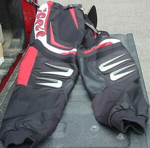"""WARNERT RACING BRP CAN-AM ATV TORCO """"X"""" RACE PANTS NEW WITH TAGS SIZE WAISTE 32"""