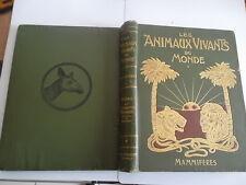 LES ANIMAUX VIVANTS DU MONDE PAR CHARLES J. CORNISH - LES MAMMIFERES