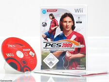 PES - PRO EVOLUTION SOCCER 2009 / 09 - dt. Version - +Nintendo Wii Spiel+