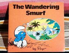 "Smurf Mini Storybooks ""THE WONDERING SMURF "" by Peyo 1980 Random House"