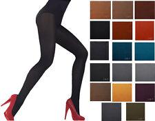 60 Denier Womens Opaque Microfibre TIGHTS Various Colours Sizes M L XL XXL new