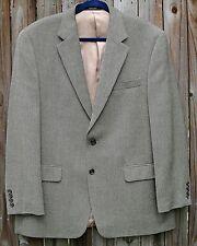 Ralph Lauren Men's Lambs Wool Beige/Black Herringbone Sport Coat/Jacket-42-NWOT