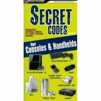 Secret Codes For Consoles Handhelds 2008 Strategy Guide