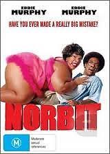 Norbit Eddie Murphy Region 4 PAL DVD VGC