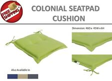 GREEN Square Seat Pad Chair Cushion lHome Office Dining Indoor Outdoor Floor Mat