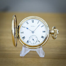 Waltham Gold Filled Full Hunter Pocket Watch
