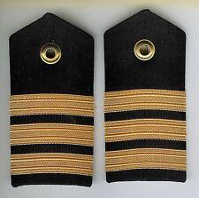 Pair Obsolete Canadian Navy Commander Female Shoulder Boards