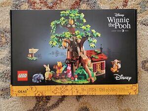 Disney LEGO 21326 Ideas #34 Winnie the Pooh 100 Acre Wood Tree House Tigger New
