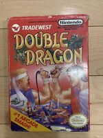 Double Dragon Nintendo Nes Complete CIB Manual Authentic TESTED FAST SHIPPED