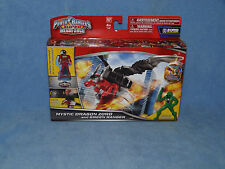 POWER Rangers Megaforce Mystic Dragon Zord del Verde Action Figure Giocattolo & Morpher CHIAVE