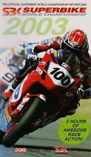 2003 World Superbike Review VHS New BSB