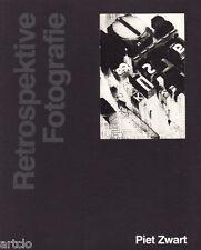 Piet ZWART  -  Retrospektive Fotografie - 1981