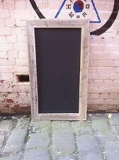 Rustic Recycled Timber Chalkboard, Reclaimed Wooden Menu Board Wooden Blackboard