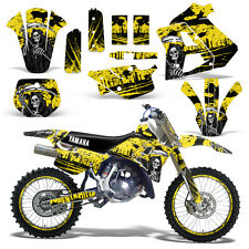 Yamaha Graphic Kit WR 250Z Dirt Bike Decal w/ Backgrounds WR250Z 91-93 REAP YLLW