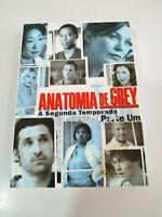 Anatomia de Grey Seconda Stagione Prima Parte - 4 X DVD Spagnolo IN Inglese