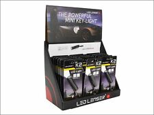 LED Lenser - K2 Key-Light Keyring Torch POS (18 x K2) with Auto Header