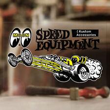 Mooneyes Dragster sticker autocollant autocollante hot rod drag racing pegatina
