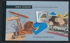 GB 1999 WORLD CHANGERS PRESTIGE BOOKLET FINE MINT DX23