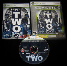 ARMY OF TWO 1 XBOX 360 Versione Italiana Classics ••••• COMPLETO