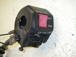 SCHALTER RECHTS START STOPP LICHT SWITCH interrupteur interrutore SUZUKI GS 500