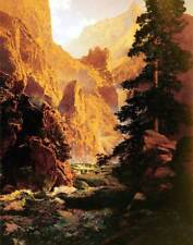 Canyon Creek Landscape by Maxfield Parrish