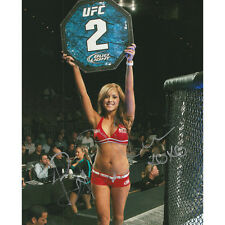Brittney Palmer Autographed UFC Ring Girl 8X10 Photo