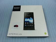 Sony Xperia Sola MT27i 8GB Schwarz! Ohne Simlock! Neu & OVP! Unbenutzt! RAR!