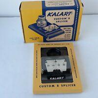 Kalart Custom 8 Splicer For 8mm Film  New Dual Purpose Feature