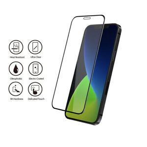 New Genuine NUGLAS Full Screen Tempered Glass Protector for iPhones and iPads