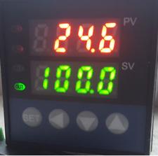 Programmable PID Temperature Controller Ramp Soak Kiln 60 Segment Time Cyc °F °C