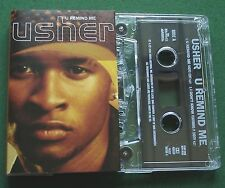 Usher U Remind Me / I Don't Know ft. P. Diddy Cassette Tape Single - TESTED