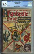 Fantastic Four #17 CGC 2.5 Doctor Doom App JFK
