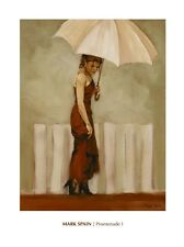 Mark Spain - Promenade --Figurative, People and Potraits Online Art Print Wall
