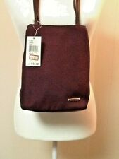 Nine West Shoulder Bag/Purse Double Strap Bucket Bag Burgundy NWT!