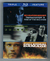 SCHWARZENEGGER - TRIPLE FEATURE - BLU-RAY - NEUF NEW NEU