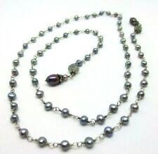 "Antique 28"" Pearl Necklace"