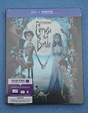 Corpse Bride Bluray Steelbook French Edition with English Language sealed