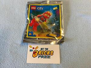 Lego City 952012 Deep Sea Diver Foil Pack New/Sealed/Hard to Find