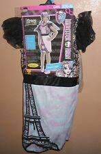 MONSTER HIGH SCARIS ROCHELLE GOYLE HALLOWEEN COSTUME GIRLS SMALL 4-6