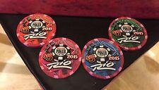 ☀2015☀New $5 Rio Casino WSOP UNC Set Chips Vegas World Series Of Poker☀